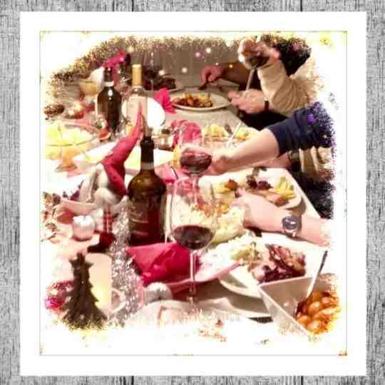 mad ud af huset juleaften