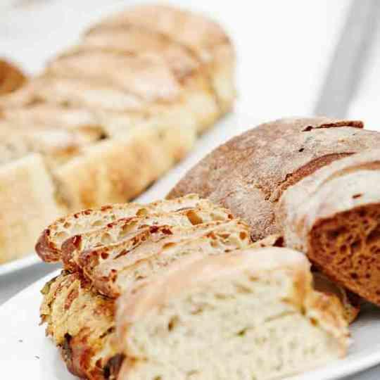 tilbehør til buffet - brød